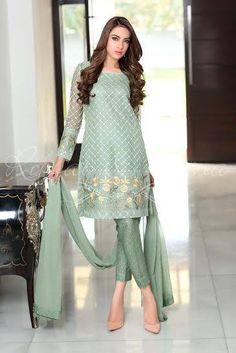 Sana Salman Semi Formal Summer Dresses