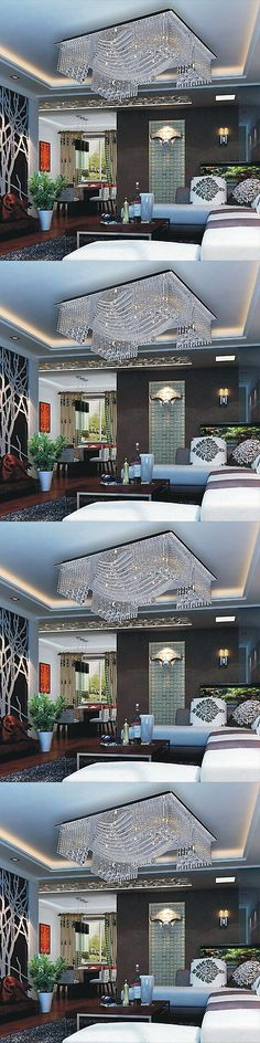 Chandeliers and Ceiling Fixtures 117503: Modern 13 Lights Crystal Chandelier Pendant Lighting Ceiling Fixture Lamp White -> BUY IT NOW ONLY: $177.99 on eBay!