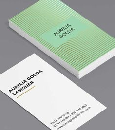 Tailored Collection Business Card Designs | Gold Foil, Spot UV templates | MOO…