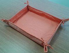 d'incanto: cestas de tecido retangular, tamanho grande