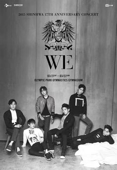Shinhwa releases poster for 17th anniversary concert