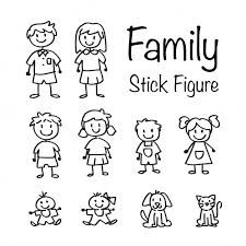 Image result for doodle figures rainbow