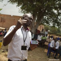 John Peter Emoi puts Opportunity International's Technology Initiative into practice as Iganga branch manager in Uganda. He is one of thousands of field staff worldwide who uses technology such as cell phone banking to bring financial services to isolated rural areas. #impact #philanthropy #foundation