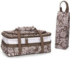 The Perfect Party Set!! $60 fits Two 9 x 13 pans... Keep one cold and one hot!! www.mythirtyone.com/NicoleChase
