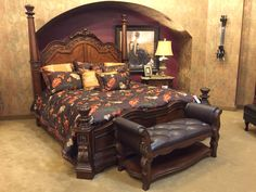 Turn your bedroom into a timeless traditional getaway with this amazing room group from your friends at the Boulevard!