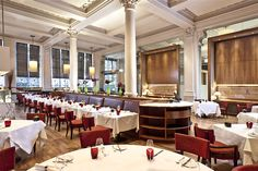 Winner of two AA Rosettes 2012-2013, Bonds Restaurant and Bar is a wonderful venue for dining and entertaining in central London. There are two distinct areas in Bonds, the bar area and the restaurant area.