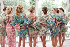 pretty getting ready robes - great gifts! | The Big Day #wedding
