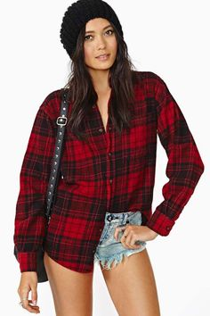 After Party Vintage Tried And True Flannel - Back In Stock