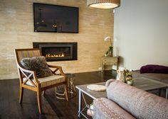 Living room #interior #fireplace #tile #customhomes #rockwellcustom