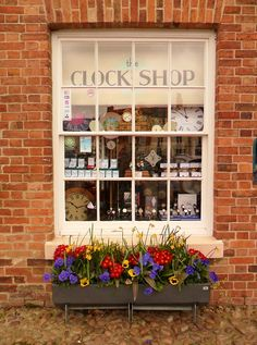 The Clock Shop, Market Bosworth, England