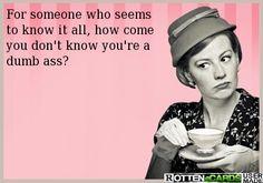 Ahhhh I know so many who are unaware