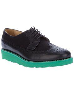 COMME DES GARÇONS SHIRT Two Tone Brogue Shoe