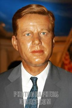 Madame Tussauds Original Wax Figures | John F . Kennedy Celebrity wax figure at Madame Tussauds Wax Museum at ...