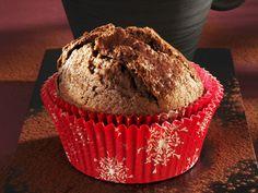 Weihnachtlicher Lebkuchenmuffin | Zeit: 30 Min. | http://eatsmarter.de/rezepte/weihnachtlicher-lebkuchenmuffin
