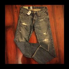 """Spotted while shopping on Poshmark: """"A&F KIDS/BOY's JEANS CLASSIC STRAIGHT/SZ14""""! #poshmark #fashion #shopping #style #Abercrombie & Fitch #Outerwear"""