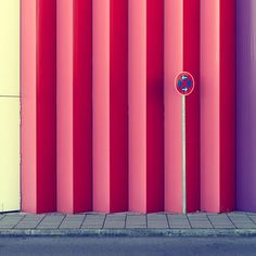 It's no wonder Munich based photographer Nick Frank favors shooting urban architecture. His perspective on the facade of Mira, a local shopping center, has enhanced the colors and geometric structure so… Minimal Photography, Urban Photography, Artistic Photography, Color Photography, Creative Photography, Amazing Photography, Landscape Photography, Architectural Photography, Urban Architecture
