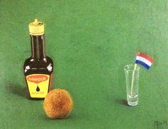 Hollandse traktatie - olieverf | Dutch treat - oil painting