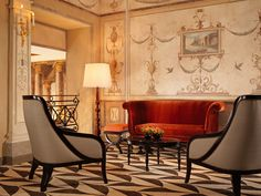 Spend your stay in Rome across the road from the former home of one of Italy's most famous dynasties. The refurbished Hotel Eden has serious glam factor.