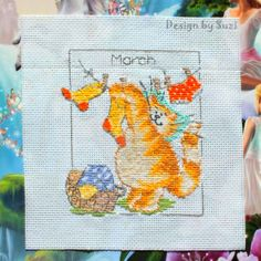 Margaret Sherry Lovers ~ Group Blog ~: Calendar Cats: March