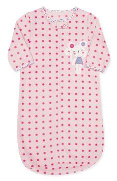 Primark - Saco de bebé polar bolas cor-de-rosa