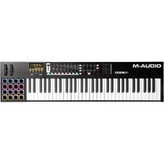 61 key M-Audio Code MIDI Keyboard Controller - would be epic for using with Playground Sessions to finally become the keyboard god I always knew I should've been...