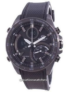 Stainless Steel Case, Resin Strap, Solar Movement, Mineral Crystal, Black Dial, Analog Digital Display, Chronograph Function. Cw Watches, Used Watches, Watches For Men, Seiko 5 Military, Casio Edifice, Countdown Timer, Watch Model, Black Crystals