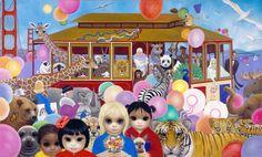 A pintora de crianças com grandes olhos | Margaret Keane