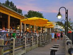 In Wilmington, N.C. the riverfront along the Cape Fear.  Voted #1 Best Riverfront!