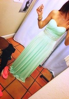 2014 Cheap Prom Dress Long Formal Cocktail Party Bridesmaid Ball Gown Under 100