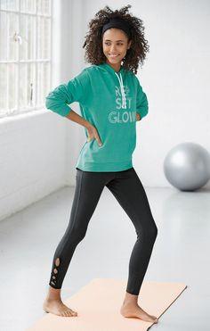 Legging de sport court taille haute femme Next - Noir  edd126edece