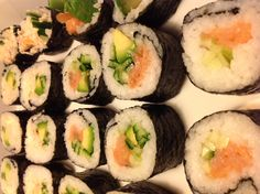 Homemade maki