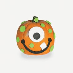 Foam Monster Pumpkin Decorating Craft Kit - OrientalTrading.com
