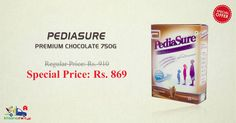 PediaSure Premium Chocolate 750GM @ Discounted Price on Kiraaanstore. Get Free Shipping & Pay COD Available.