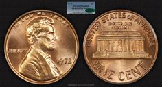 1972 Lincoln Cent Doubled Die Obverse PCGS MS66RD CAC - Submitted by Michael Beygelman #CoinOfTheDay #COTD Coins Worth Money, Coin Worth, Old Money, Proof Coins, Us Coins, Coin Collecting, Lincoln, Stamps, Eagle