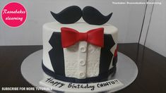 Tuxedo Birthday Cake For Men Design Ideas Decorating Tutorial Video Home Husband Him Dad Boyfriend for Cake Designs For Men - Cake Design Ideas Happy Birthday Papa Cake, 30th Birthday Cakes For Men, Birthday Cake Video, Birthday Cake For Boyfriend, Funny Birthday Cakes, Unique Birthday Cakes, Boyfriend Cake, Women Birthday, Blue Birthday