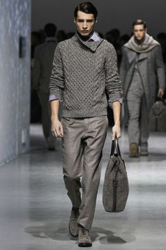 Just the sweater. The pants seem a little too baggy.