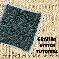 Granny Stitch Tutorial