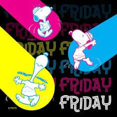 Snoopy Friday, Peanuts Characters, Fictional Characters, Snoopy Cartoon, Blessed Week, Beagle Dog, Friday Feeling, Days Of Our Lives, Peanuts Snoopy