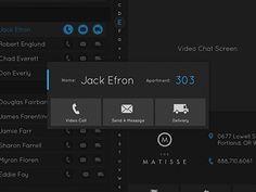 A modal dialog showing a clean, minimal dark UI