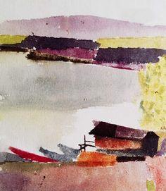 Paul Klee - Kleiner Hafen, 1914.