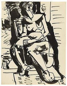 Hans Hofmann - Untitled, 1935