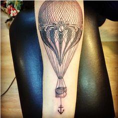 vintage hot air balloons?!