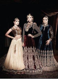 Mughal style Brides