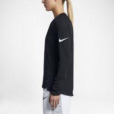Nike Breathe Elite - langærmet basketballoverdel til kvinder