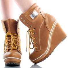 Tan Suede Sporty Fashion Comfort Casual Ladies Women Shoes Wedge