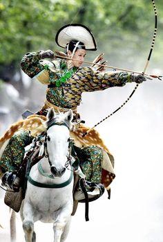 Japanese Martial Art Archer Kyudo