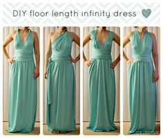 Infinity dress tutorial:  The secret to making a fantastic infinity dress is finding a fabric with the perfect stretch and recovery. Those straps are going to be twisted, braided, and draped in every different style so make sure you find the right knit!