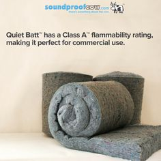 Quiet Batt™ 30 is a 3 in. premium, high-performance soundproofing and thermal insulation product designed for use in both interior and exterior walls, ceilings and attic applications. Quiet Batt™ 30 is ideal for walls, floors, and ceilings and has been shown to reduce sound transfer across those surfaces.