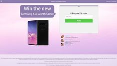Win a new Samsung S10 worth $1000 👍 New Samsung, Giveaways, Competition, Coding, News, Programming