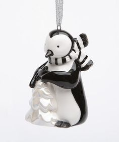 Look what I found on #zulily! Penguin Ornament #zulilyfinds